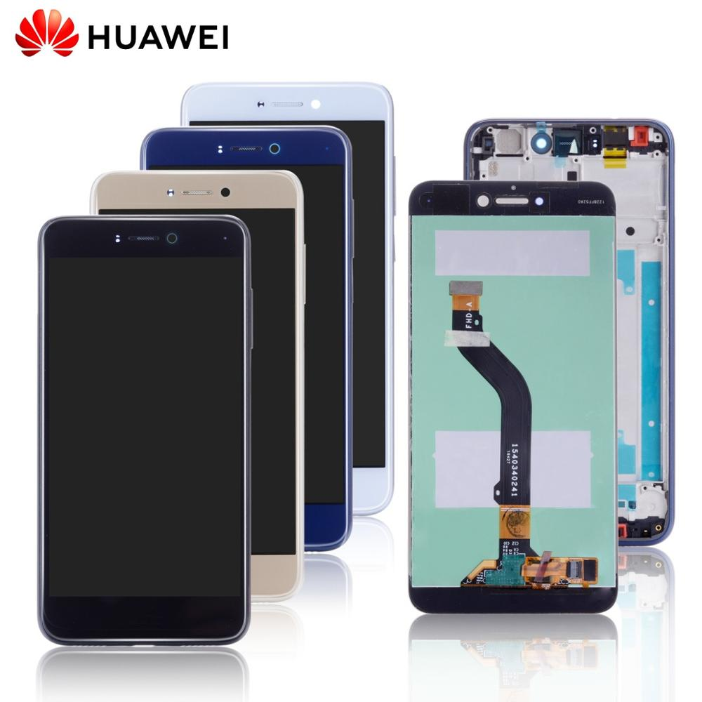HUAWEI Display Touch-Screen Honor 8-Lite Frame Original For With Pra-tl10/Pra/Lx1/Lx3