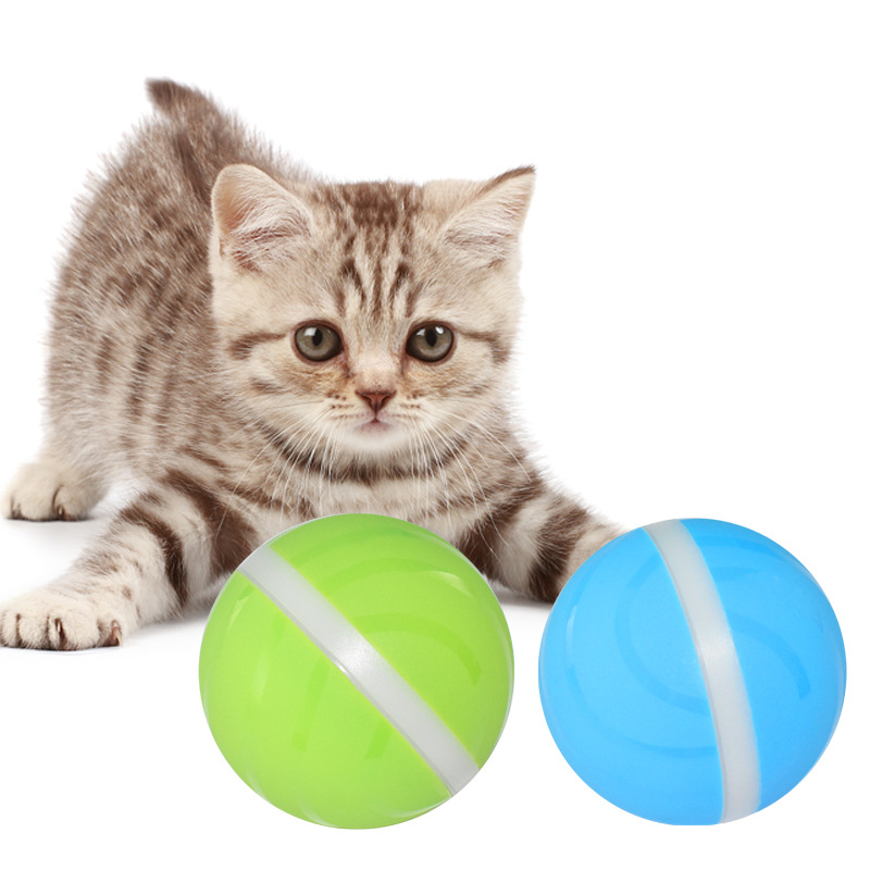 Bola de brinquedo inteligente do animal de estimação pode dormir carregamento usb gato e cão brinquedo elétrico brilhante brinquedo do gato interativo do brinquedo do animal de estimação