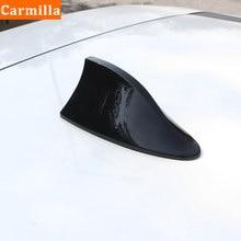 Carmilla-cubierta de alerón con forma de aleta de tiburón para Nissan Kicks, accesorios de decoración de antena automática, ABS, 2017, 2018, 2019, 2020, 2021