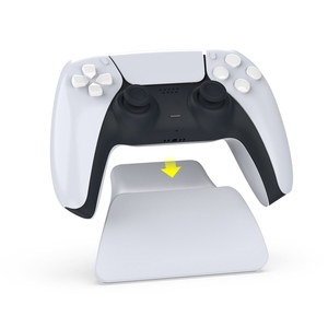 Image 5 - Controller Display Stand Holder Mount With USB Charging Cable for PS5 Gamepad