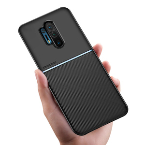 For OnePlus 8 Pro Case Fashion Carbon Fiber Silicone Shockproof Cover For OnePlus 7T 7 Pro Case One Plus 8 7T 7 Protection Funda(China)