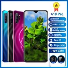 Mobile phone A10pro Smartphone MTK6595 phone Octa core Iphone 4G LTE 6GB+128GB iphones 6MP+18MP 6.7