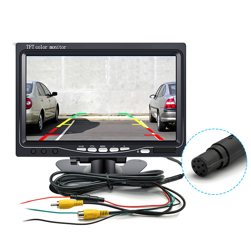 7inch TFT LCD Display HD Mirror Monitor For Car Reverse Rear View Backup Camera