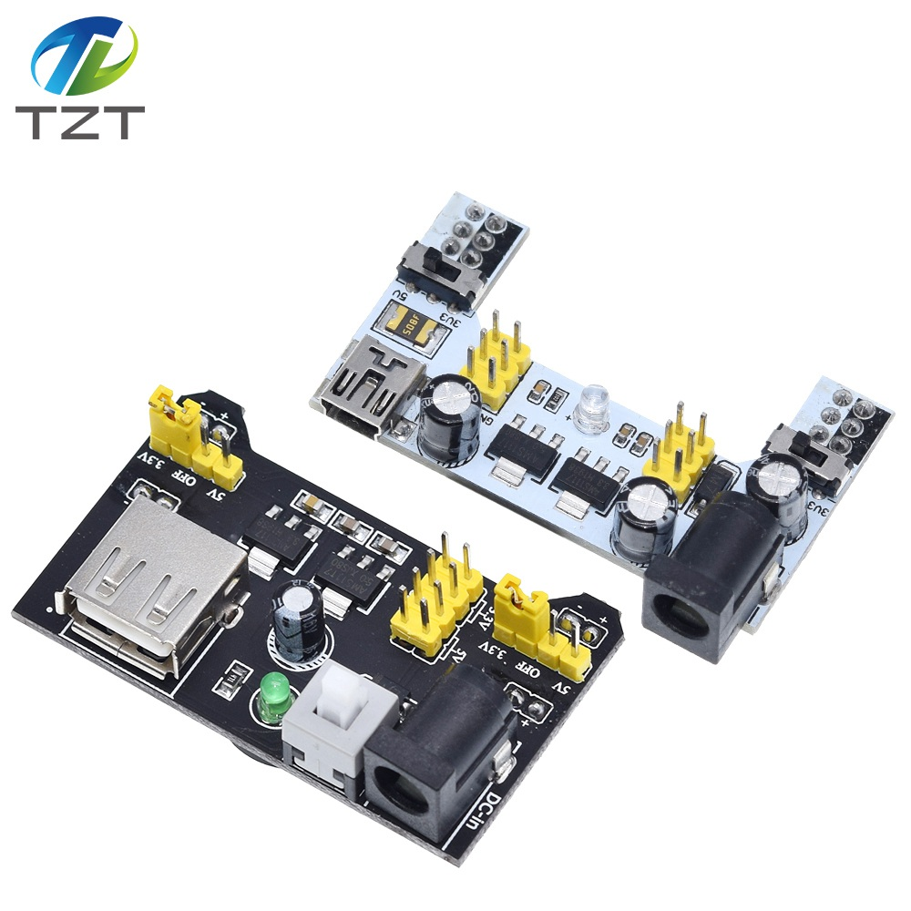 Image 4 - TZT MB102 Breadboard Power Module+MB 102 830 Points Solderless Prototype Bread Board kit +65 Flexible Jumper Wires-in Integrated Circuits from Electronic Components & Supplies