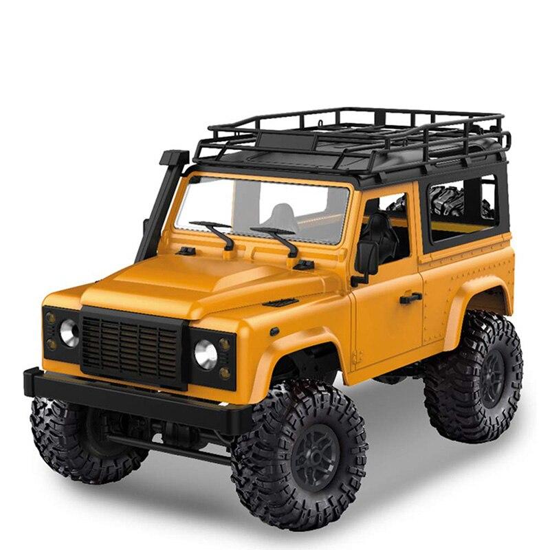 Rc voitures MN modèle D90 1:12 échelle RC chenille voiture 2.4G quatre roues motrices Rc voiture jouet assemblé complet véhicule MN-90K