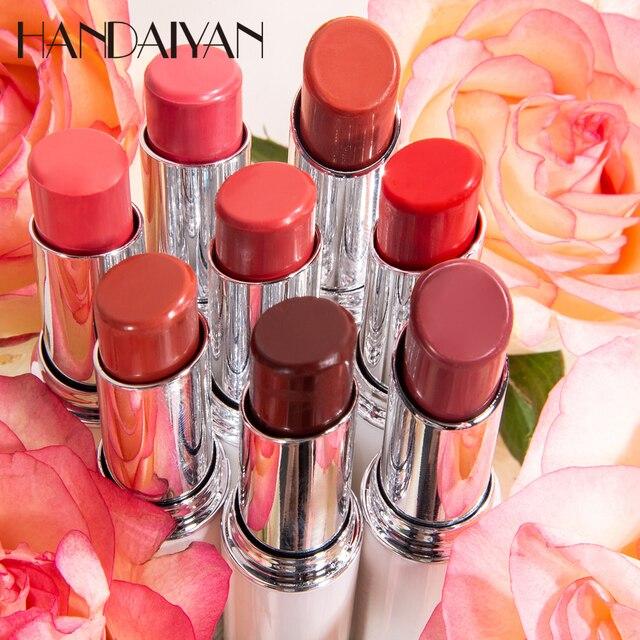 HANDAIYAN Chameleon Moisture Lip Balm Rose Lips Hyaluronic Acid Natural Lipbalm Temperature Change Color Nourish Makeup Lipstick 4