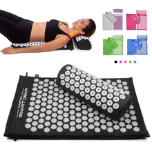 Pillow-Set Massage-Mat Acupuncture-Mat Relaxation Back-Neck Pain Relieve-Stress Sciatic