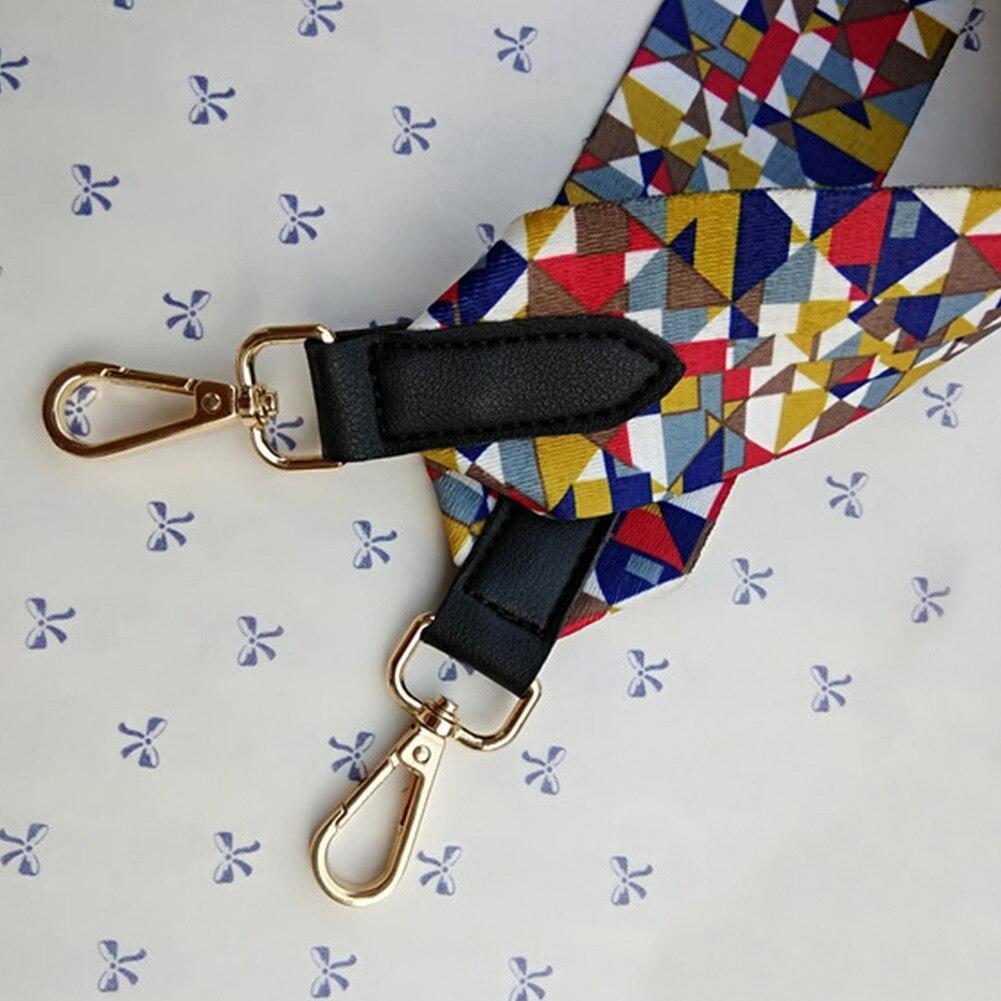 Handbag Replacement Belts Ethnic Style Wide Parts RFID Blocking Fabala Not Adjustable Crossbody Shoulder Bag Strap Bag Accessory