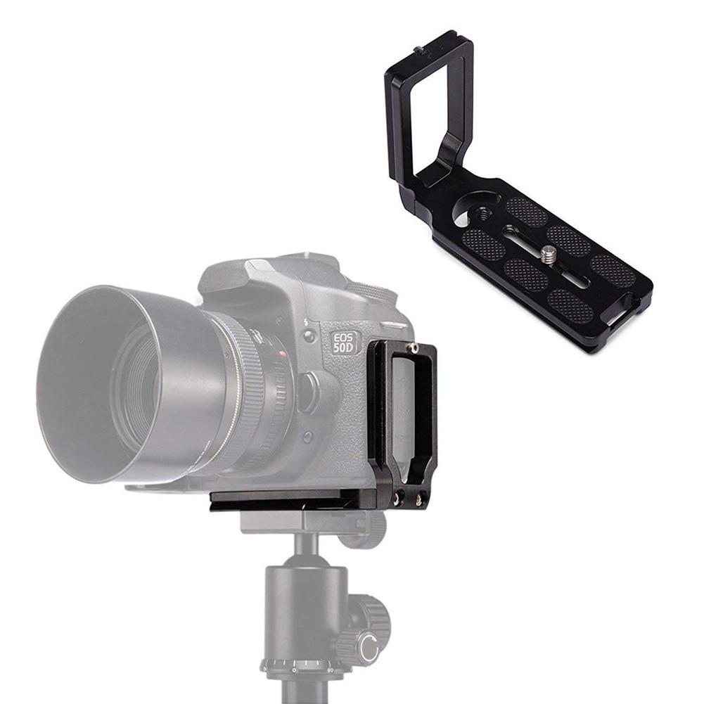 Placa de liberação rápida de suporte de tripé de suporte - Câmera e foto - Foto 3