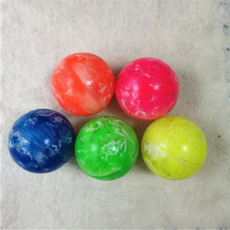1pc Rubber Bouncing Balls Bouncy Clouds Colorful Jumping Ball For Child Bathing Float Juggling Pinball Toy Kids Outdoor Game