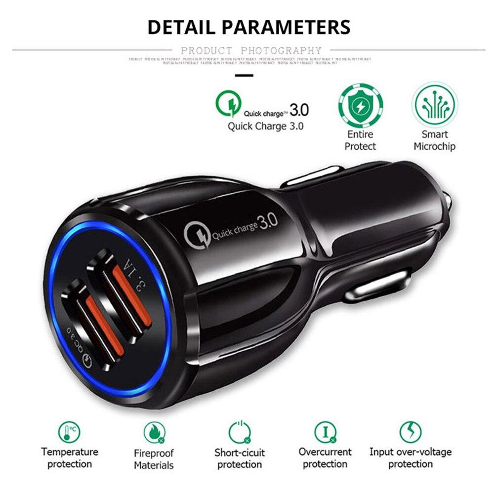 Schnell 3,0 Auto Ladegerät Buchse Adapter Dual USB Port für BMW EfficientDynamics 335d M1 M-Null 545i 530xi X2 x3 M5 M2