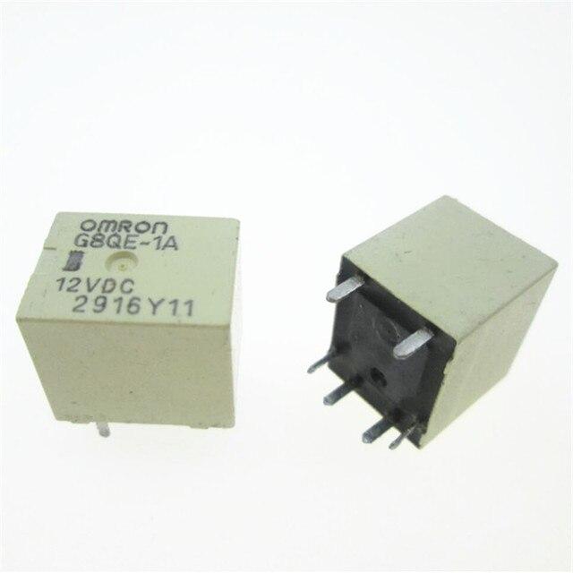 자동 자동차 12V 릴레이 G8QE 1A 12VDC G8QE 1A 12VDC G8QE1A 12VDC DC12V 12V 6PIN