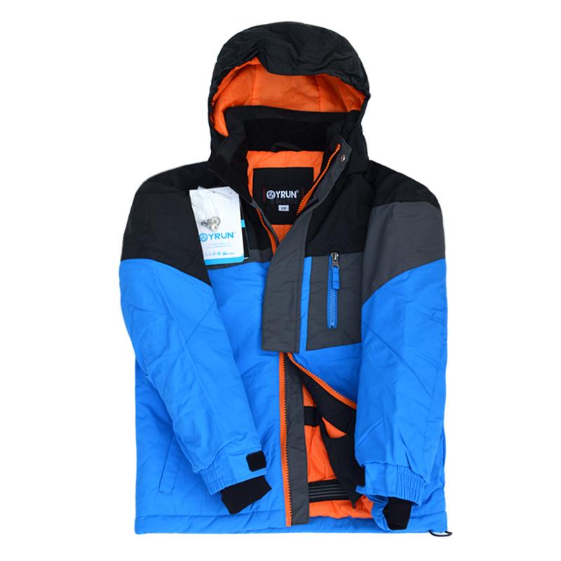 Boys Ski Jackets Winter Teenage Children Outerwear Waterproof Windproof Brand Kids Warm Outdoor Clothing 6 8 10 12 14 15 years