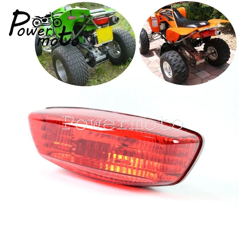 35710-03G30 ATV QUAD LTZ Tail Light Assembly Rear Brake Stop Light For Suzuki LTZ400 Z250 LT-Z LTF400 2WD 4WD Kawasaki KFX400