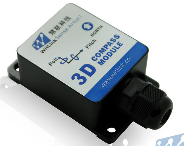 SEC335 High Precision 3D Electronic Geological Compass Magnetic Sensor