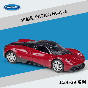 PAGANI Huayra WELLY Cars 1/36 Metal Alloy Diecast Model Cars Toys image