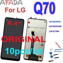 """10 шт/лот оригинальный 64 """"ЖК дисплей для lg q70 ЖК с сенсорным"""