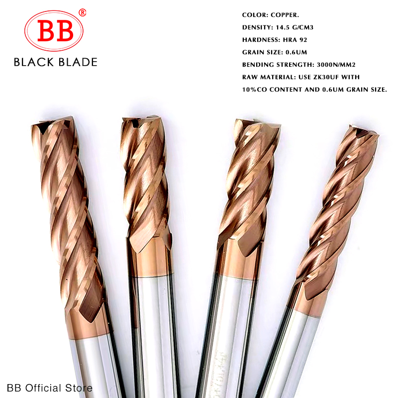 1Pcs SWT 3 Flute HSS  End mill D17*16*32*92 Drill Bit