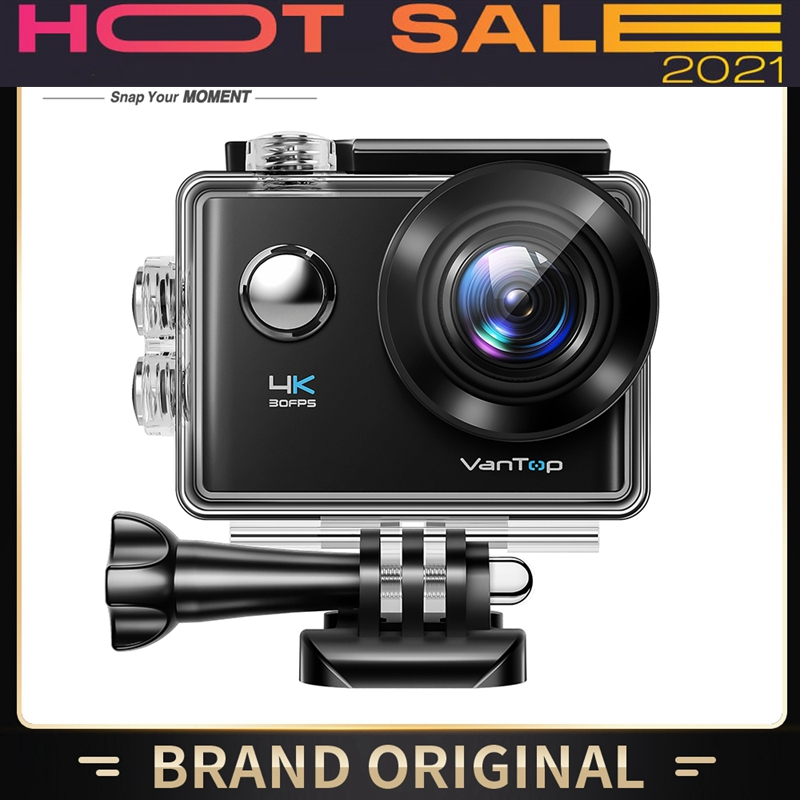 Moment D4uq 4k Action Camera 20mp Wireless Sport Camera With Eis External Mic Touch Screen Wifi Remote 170° Wide Angle