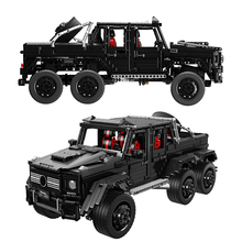 3300pcs G63 6x6 LAND CRUISER Off Road Vehicle Model Sets MOC Technic SUV Car Building