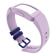 Wristband Pin Buckle Replacement Soft Adjustable Silicone Durable Watch Strap Accessories Fashion for FitBit Inspire Ace 2(China)