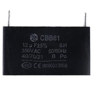 Image 4 - CBB61 12 미크로포맷 50/60Hz 350VAC 팬 모터 발전기 커패시터 검정 12 미크로포맷 발전기 커패시터 생성기