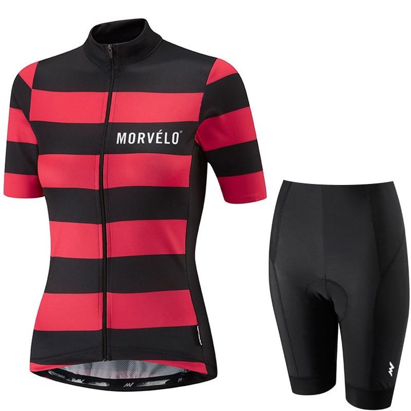 cycling jersey women summer short sleeve bike shirt bib shorts set sport uniform