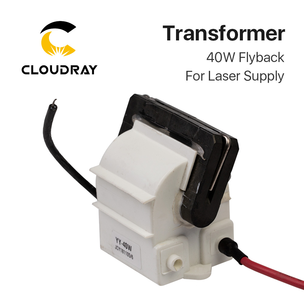 Cloudray 40W High Voltage Flyback Transformer Model B For CO2 40W Laser Power Supply