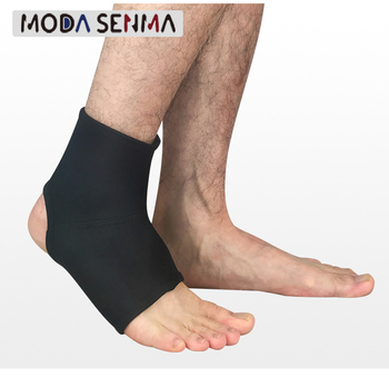 Sports ankle support elastic compression anti-sprain protection ankle socks outdoor basketball football climbing protective gear 1 pair compression ankle protectors anti sprain basketball football ankle brace supports straps bandage wrap heel protector