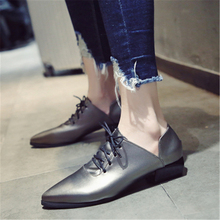 Ladies British vintage chunky  street shoes 2020 autumn European new style students with simple shoes elegant and  womens shoes