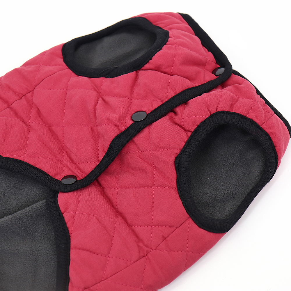 Wind-Proof Winter Dog Jacket Made with Soft Polyester material for Small/Large Dogs 11