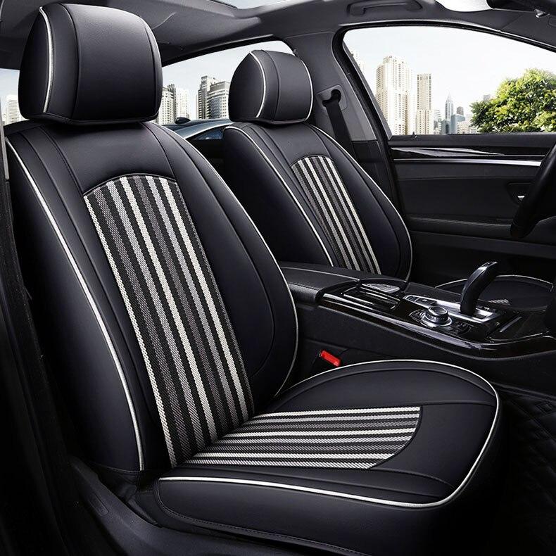 Housse de siège de voiture personnalisée en cuir pour Mercedes BENZ SLK200 SLK200K SLK250 SLK280 SLK300 SLK350 B200 B180 B220 B260 accessoires de voiture