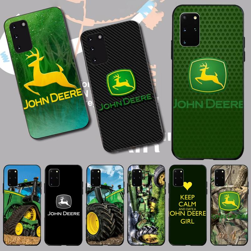 NBDRUICAI john deere DIY Printing <font><b>Phone</b></font> <font><b>Case</b></font> cover Shell for <font><b>Samsung</b></font> S20 plus Ultra S6 <font><b>S7</b></font> edge S8 S9 plus S10 5G image