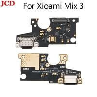 Jcd 새로운 usb 포트 충전기 독 플러그 커넥터 플렉스 케이블 xiaomi mi x 3 충전 포트 보드 교체 xiaomi mi mi x 3