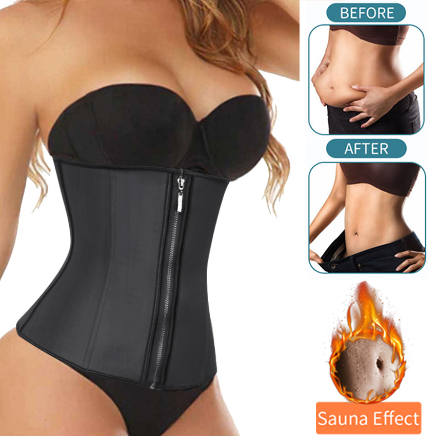 Waist Trainer Woman Slimming Sheath Weight Loss Shapewear Body Shaper Tummy Reducing Girdles Belly Shapers Modeling Belt CorsetWaist Cinchers   -