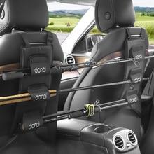 DONQL support de canne à pêche Portable pour voiture, pour siège arrière, avec sangles à nouer, support universel, outil de matériel de pêche
