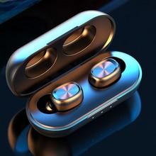 tws mini twins wireless bluetooth earphones csr 4 1 handsfree stereo bluetooth headset with mic for iphone 7 xiaomi samsung Wireless Earphone Bluetooth 5.0 Headset gamer fone bluetooth Earphones TWS Earbuds HiFi Stereo With Mic for PC iPhone Xiomi