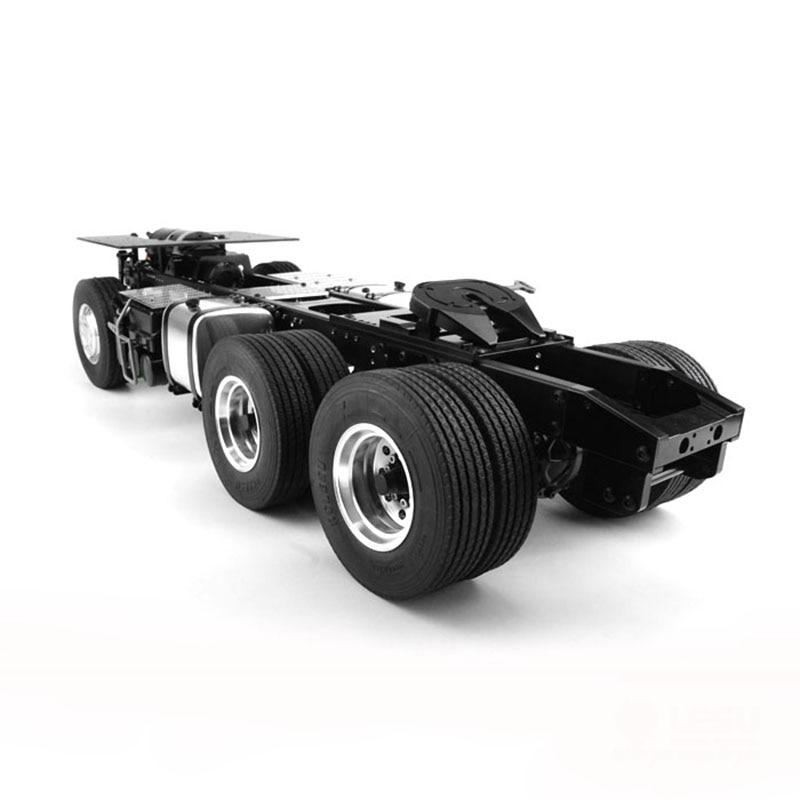 LESU 1//14 DIY TAMIYA RC Model Truck ABS Rubber Mud Guard Fender for Rear Wheel