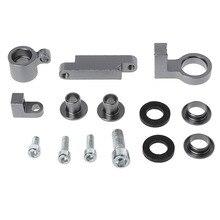 цена на Motorcycle Stent Bracket For CNC Brake Clutch Master Cylinder Fluid Reservoir Oil Tank stents Universal