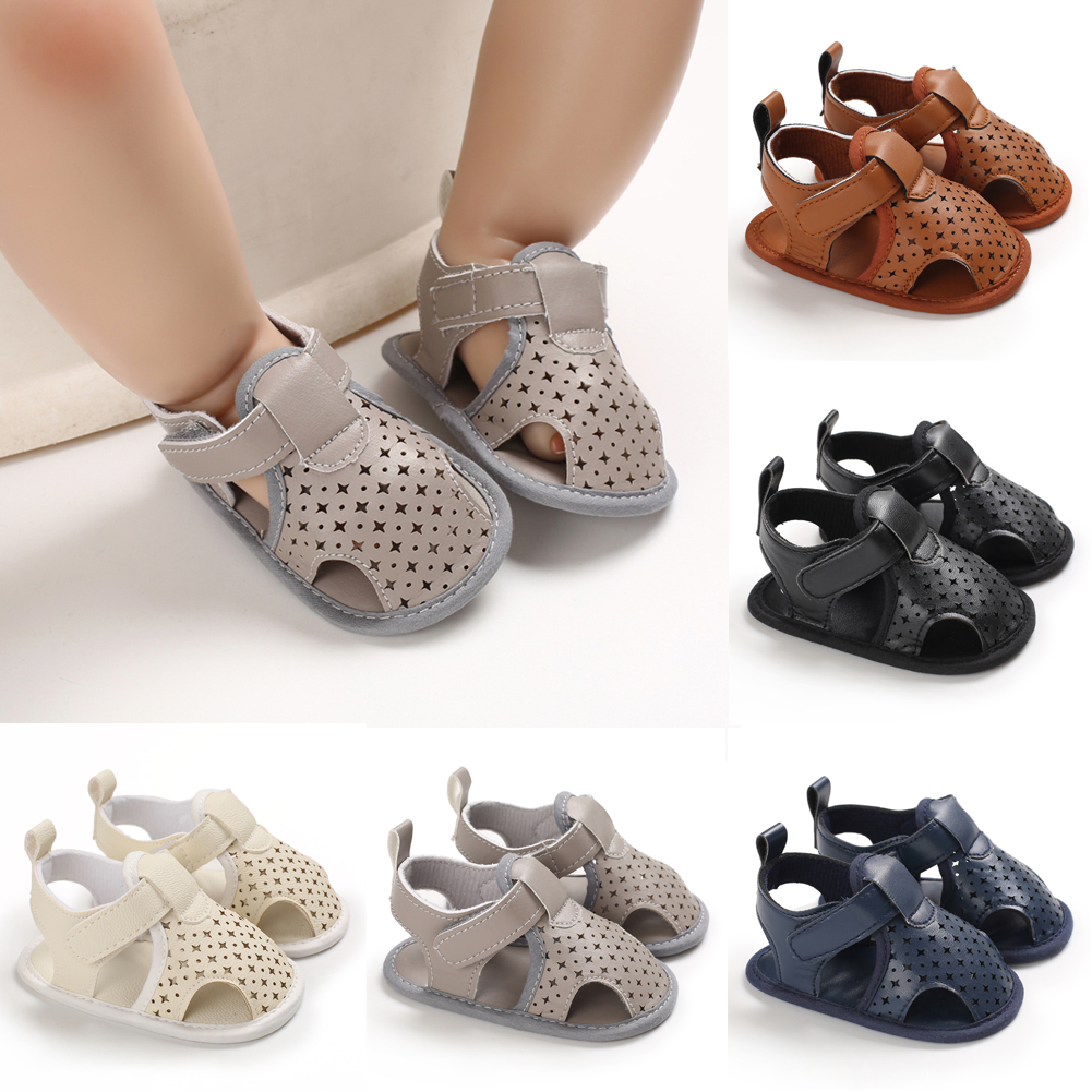 Baby Boys Sandals Shoes Casual Shoes Sneaker Anti-slip Soft Sole Toddler Shoes