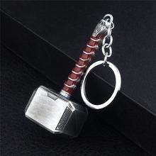 Металлический брелок thor hammer для мужчин и женщин автомобильный