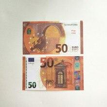 PISTOLA DE PULVERIZACIÓN de riqueza para fiestas, juguetes para esparcir dinero y papel, simulan un billete de 50 Euro