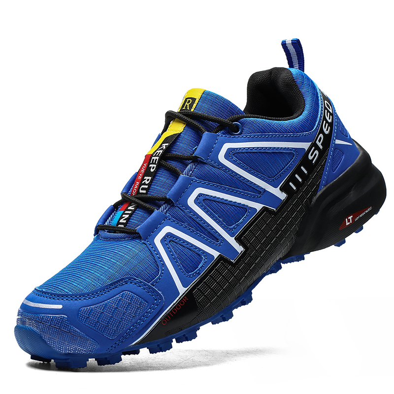 Men Shoes Summer Breathable Hiking Shoes Outdoor Men Sneakers Climbing Trekking Shoes Mens Sports Shoes Quick-dry Casuals Shoes