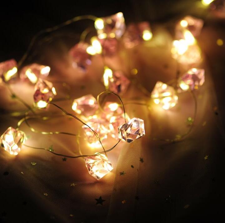 1.5m 10LED Warm White LED String Light Christmas Events Party Decoration Lights Holiday