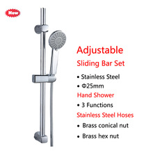 1 set of bathroom rain shower faucet set single handle faucet with hand-held sprayer wall mounted bathtub shower set  shower wall mounted 8 in shower faucet bathroom ceramic handheld single handle hot