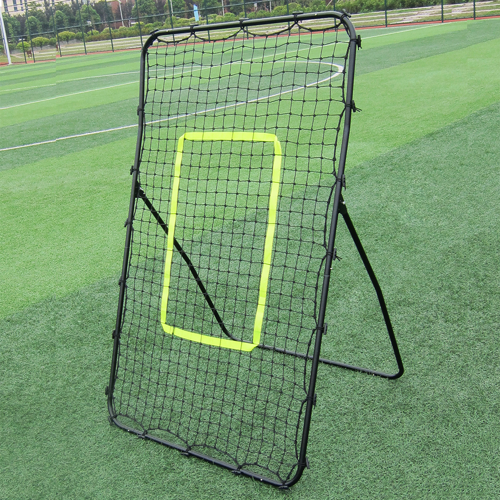 Football Soccer Goal Portable Football training Rebounder Mesh Net Disassemble Outdoor Sports Soccer Training Aid Set