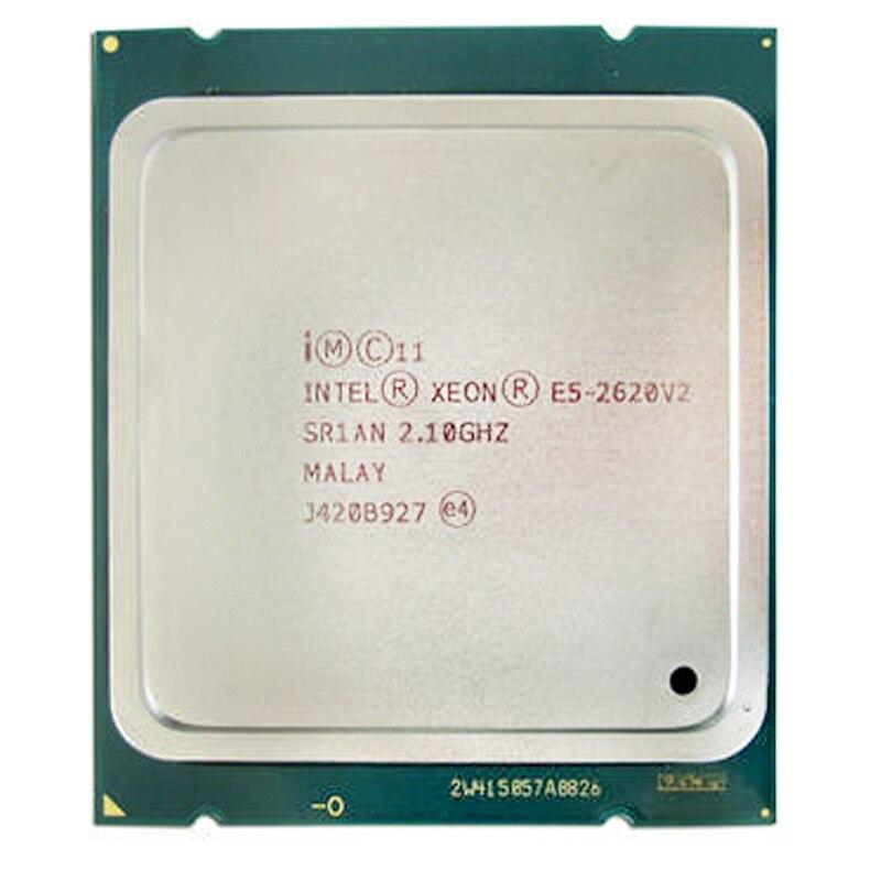 Intel Xeon Processor E5 2620 V2 CPU 2.1 LGA 2011 SR1AN 6-Core Server Processor E5-2620 V2 E5-2620V2 CPU PC Computer