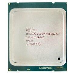 Processador intel xeon e5 2620 v2 cpu 2.1 lga 2011 sr1an processador de servidor de 6 núcleos e5-2620 v2 E5-2620V2 cpu computador