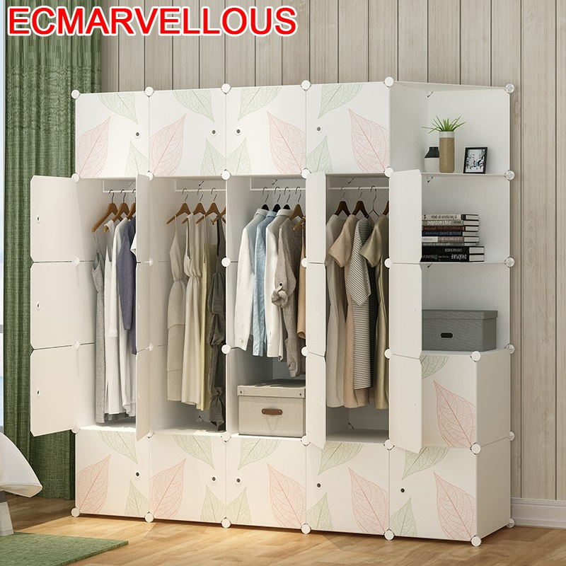 Gabinete font b Closet b font Storage Meble Meuble De Rangement Armario Ropero Mobili Bedroom Furniture