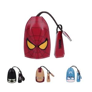 Image 5 - Super Hero Key Case For Car Cartoon Car Key Case Bag Leather Key Case Cover Multi Function Key Case Car Accessories